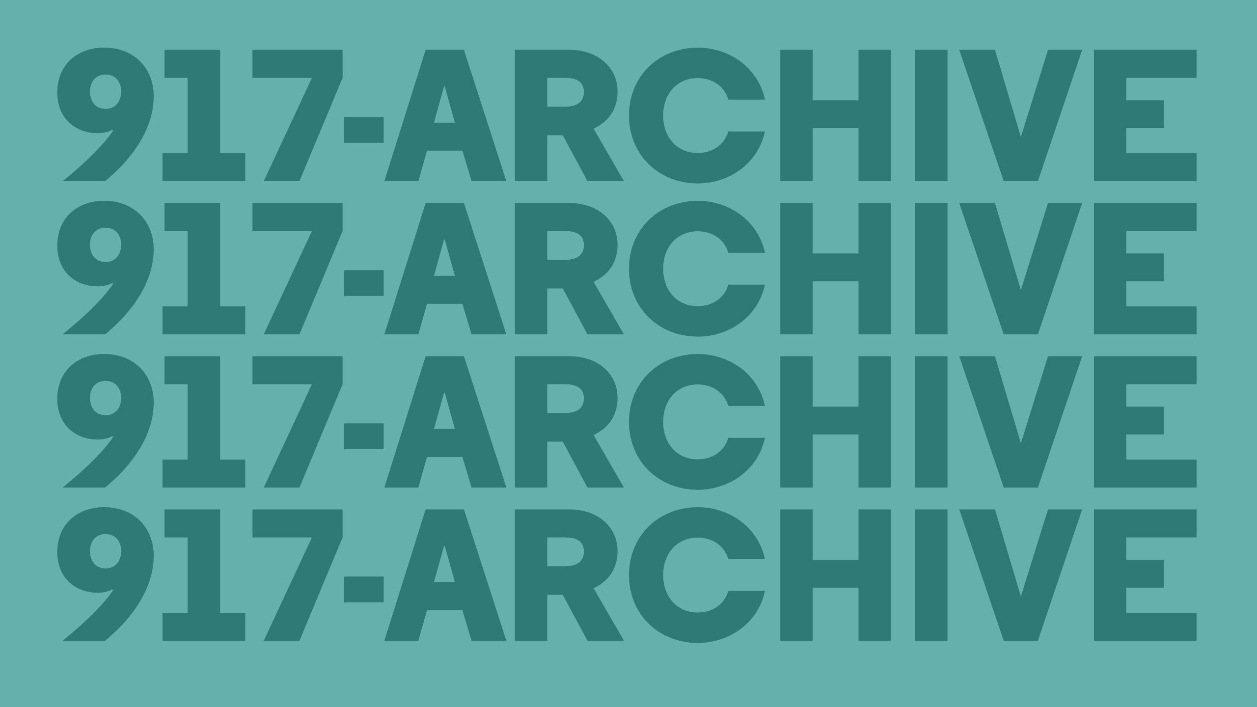 917-ARCHIVE → Catalog Exploration